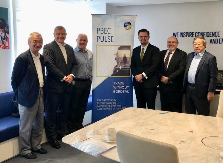 CEO Michael Walsh spent day at the first PBEC Pulse Breakfast Briefing series