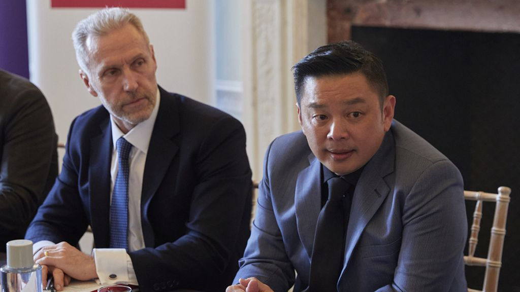 Malaysia's Minister for International Trade and Industry briefs Asia House