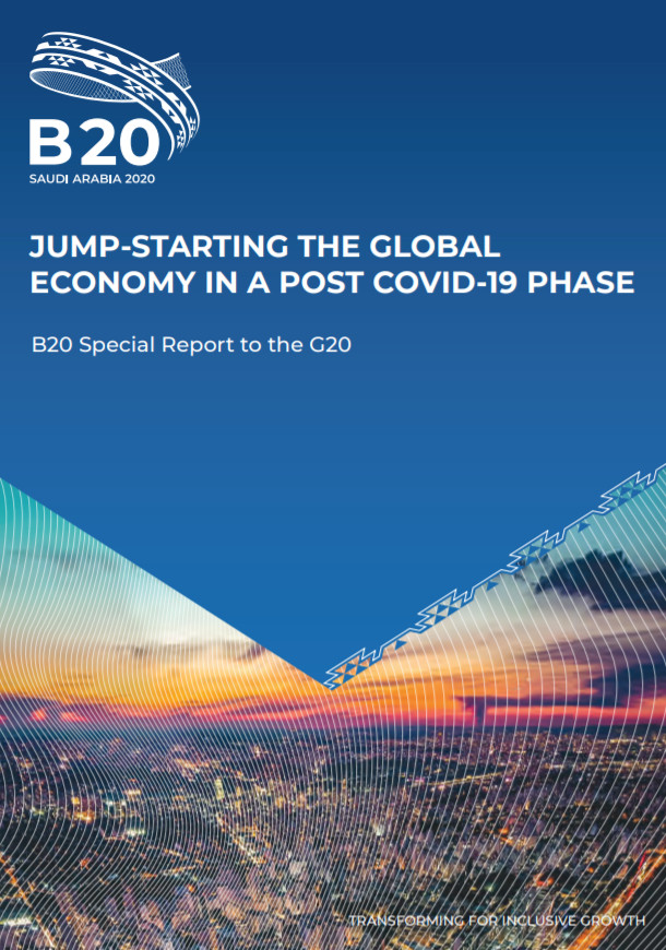 B20  Releases Special Report on COVID-19 to the G20