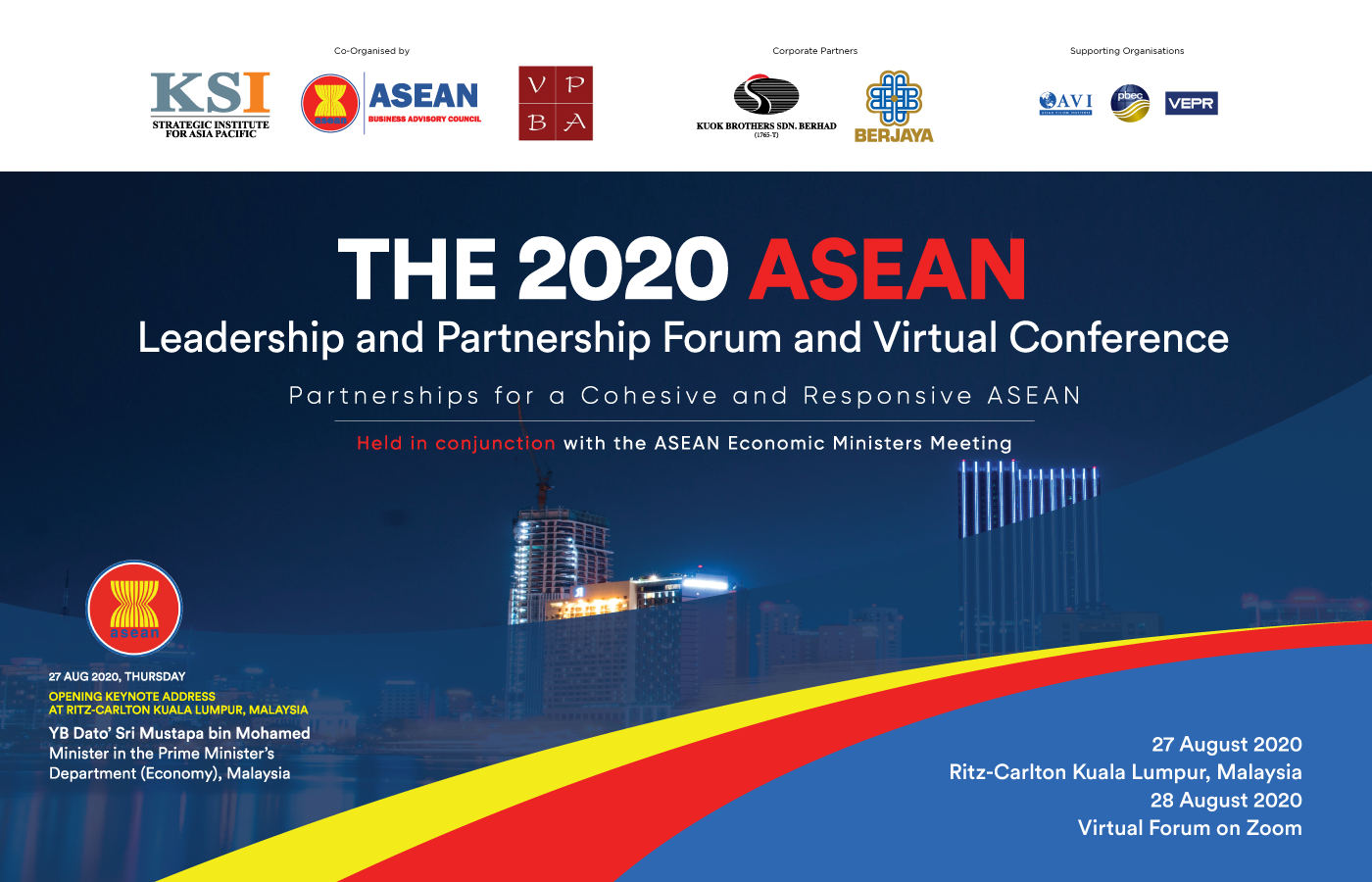 PBEC members invited to The ASEAN Leadership and Partnership Forum