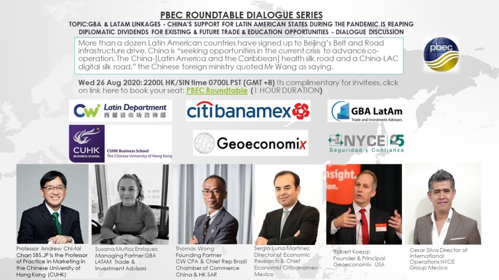 PBEC Roundtable Dialogue Series – GBA & LATAM Linkages