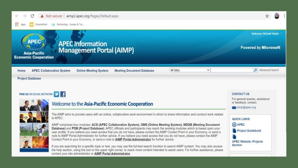 PBEC Organisation Update