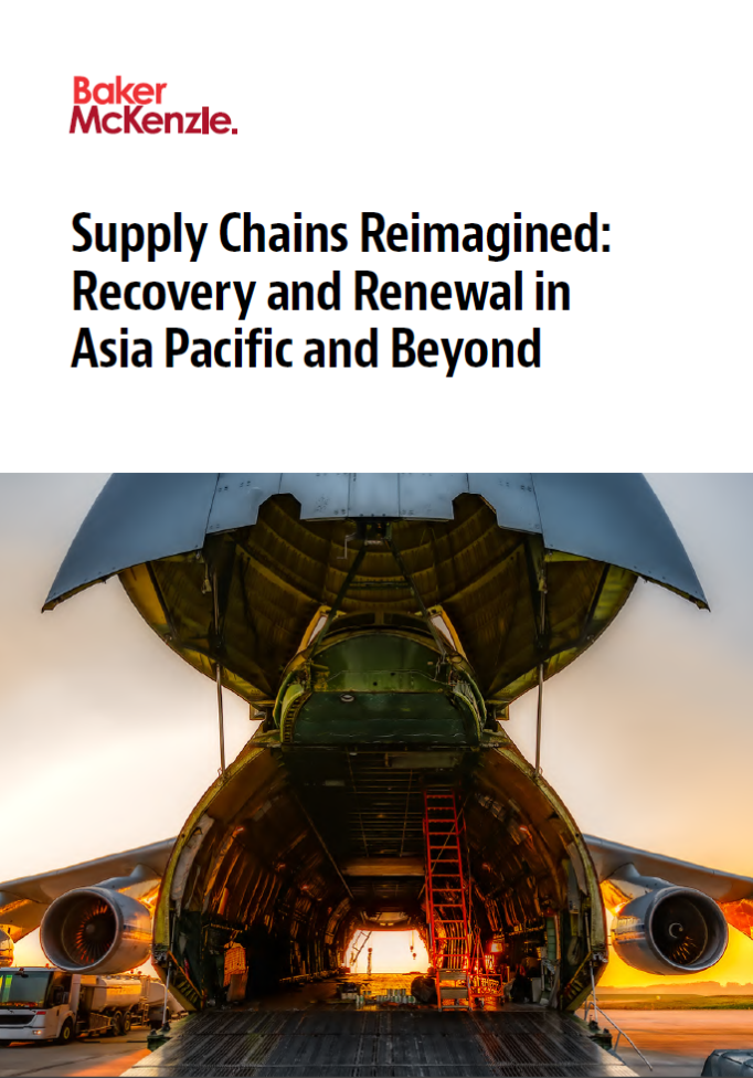 Supply Chains Reimagined: Recovery and Renewal in Asia Pacific and Beyond