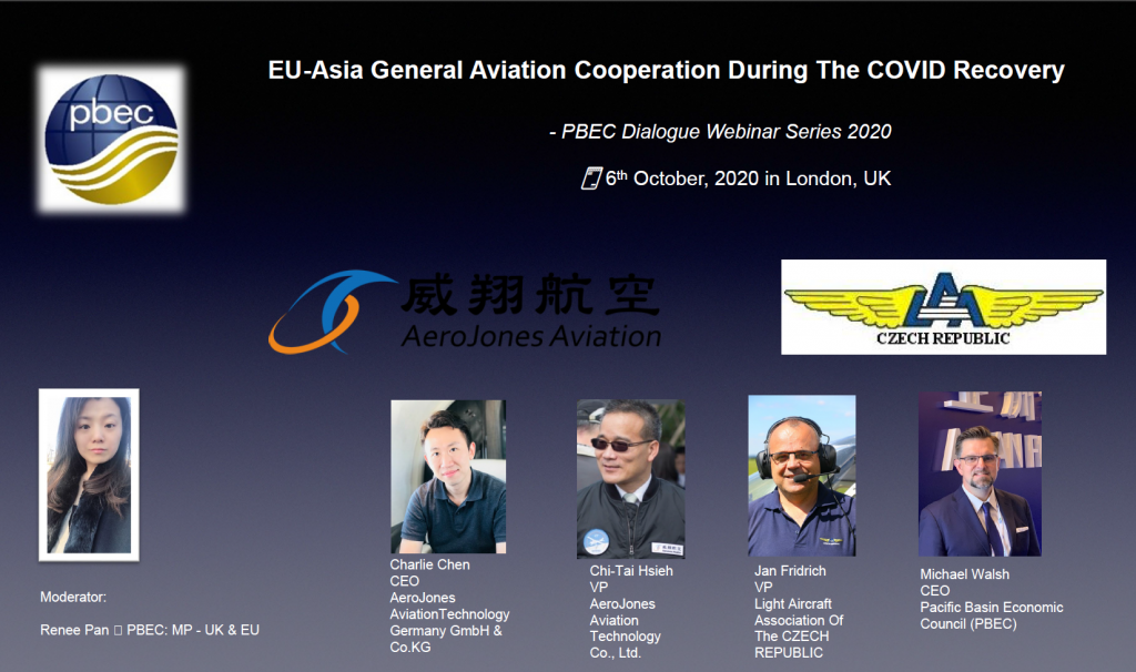 EU-Asia General Aviation Cooperation During the COVID Recovery Webinar