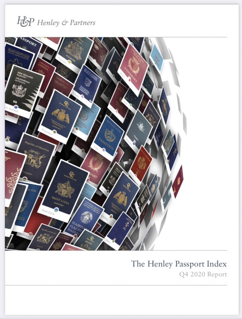 Henley & Partners Q4 Passport Index Report released powered by IATA