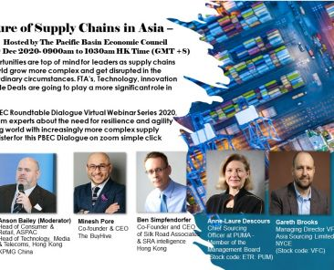 Banner for Supply Chains part II - Hosted by PBEC