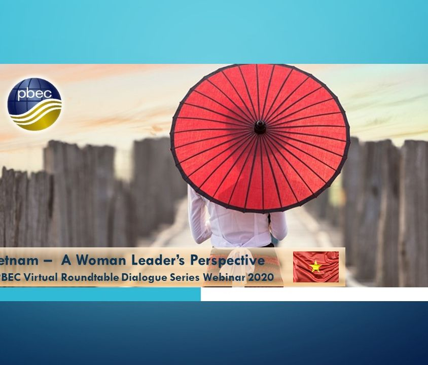 Vietnam Women's leaders Banner PBEC