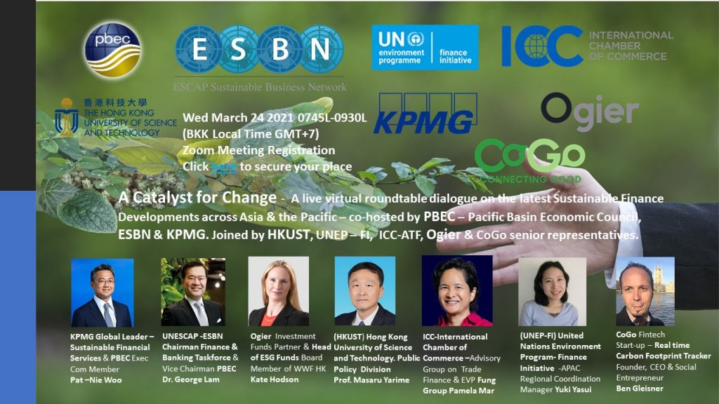PBEC & ESBN Official Side event of APFSD 2021 – Open Invitation to Join