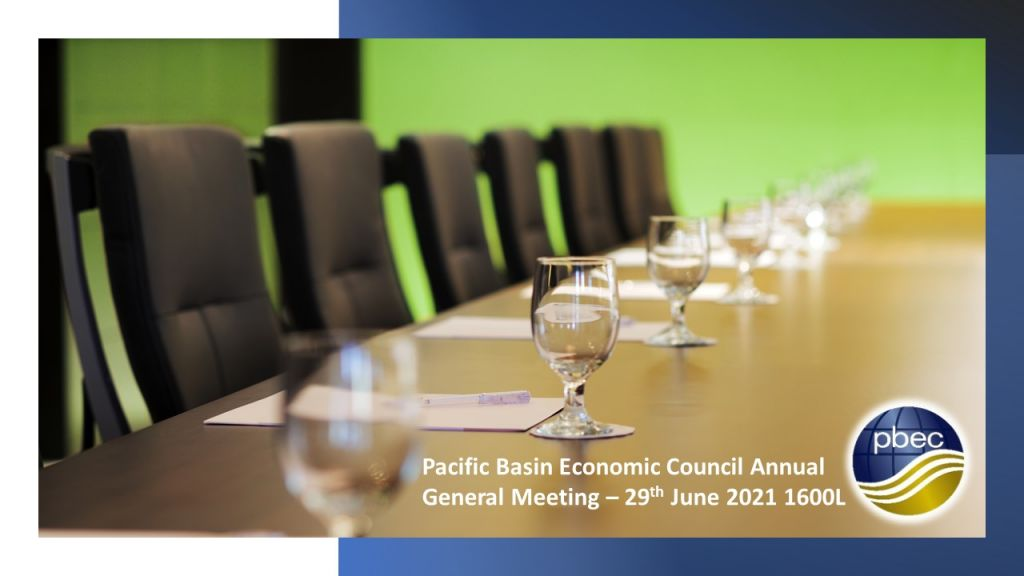Notice of The Pacific Basin Economic Council AGM 2021