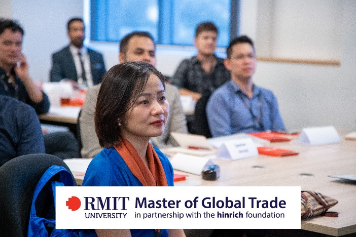 Hinrich Foundation & its Master of Global Trade Scholarship in conjunction with RMIT University  – October 2021 intake – applications open