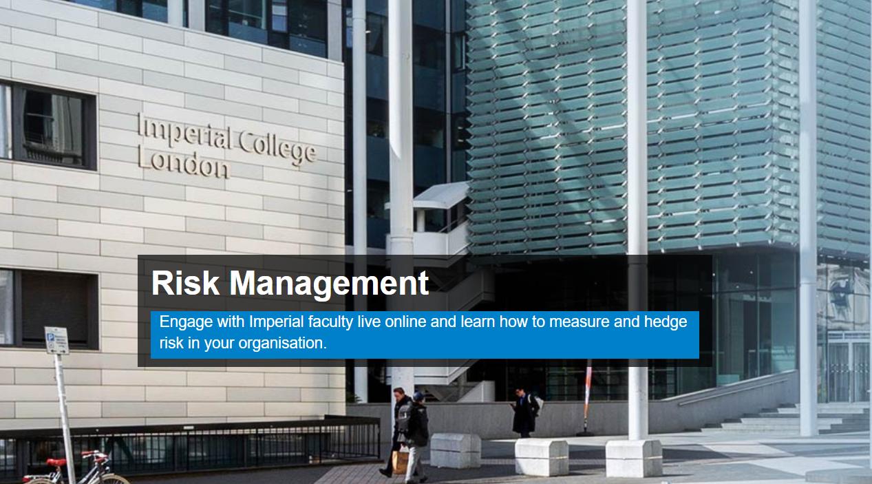 PBEC Executive Education Offer for upcoming Risk Management Programme