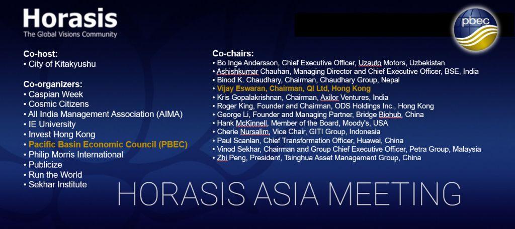 Horasis Asia Virtual Live Meeting 2021